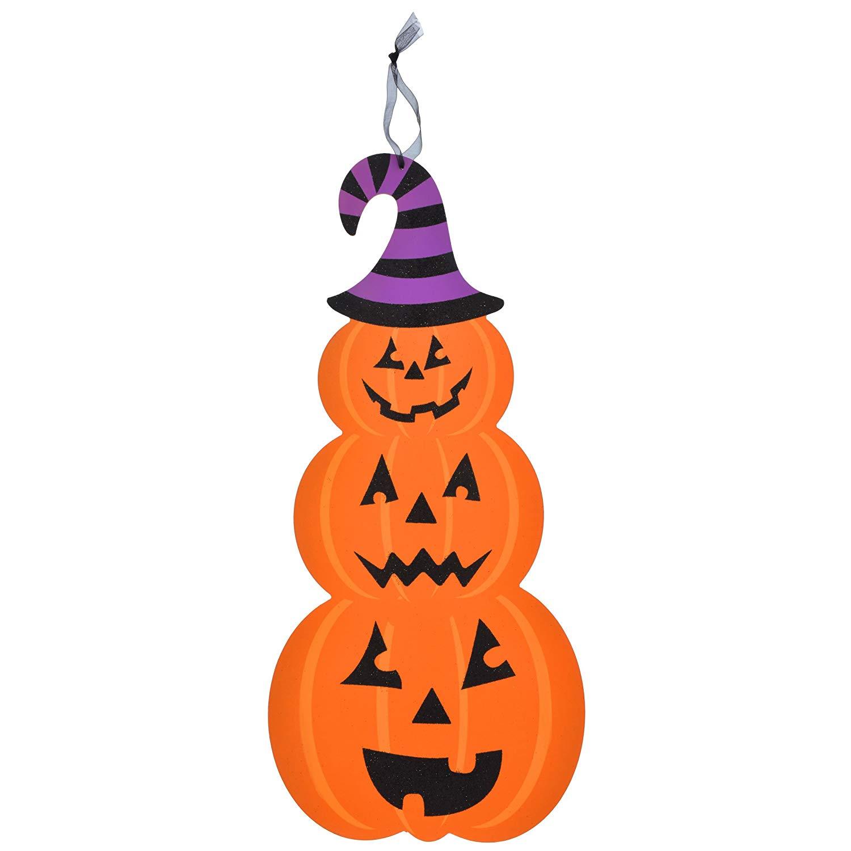 Stacked pumpkin halloween.