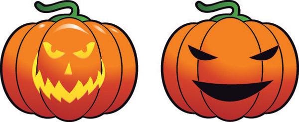 Free halloween pumpkin vectors graphics free vector download