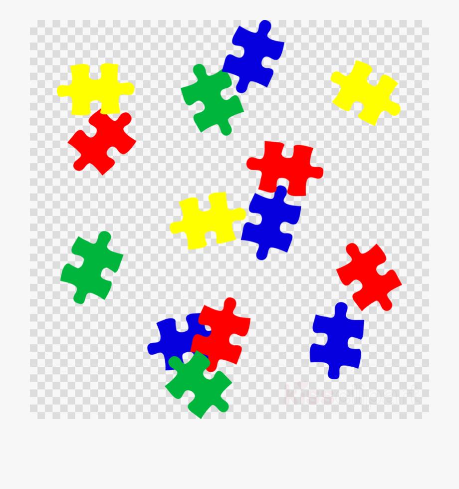 Autism puzzle pieces.