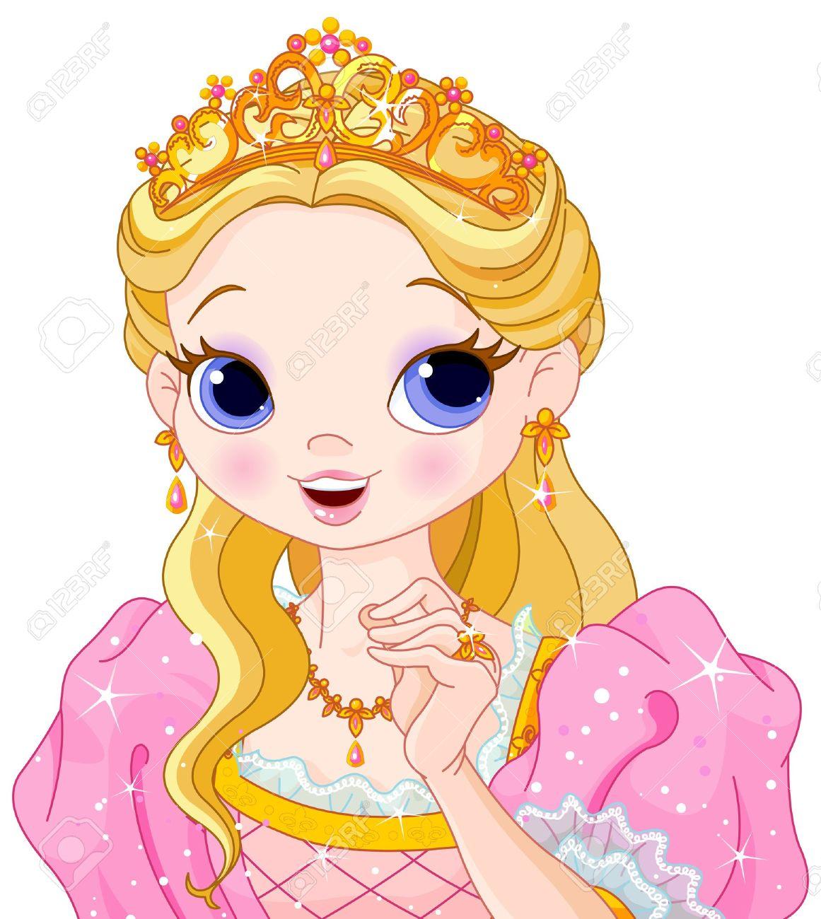 Beautiful queen clipart