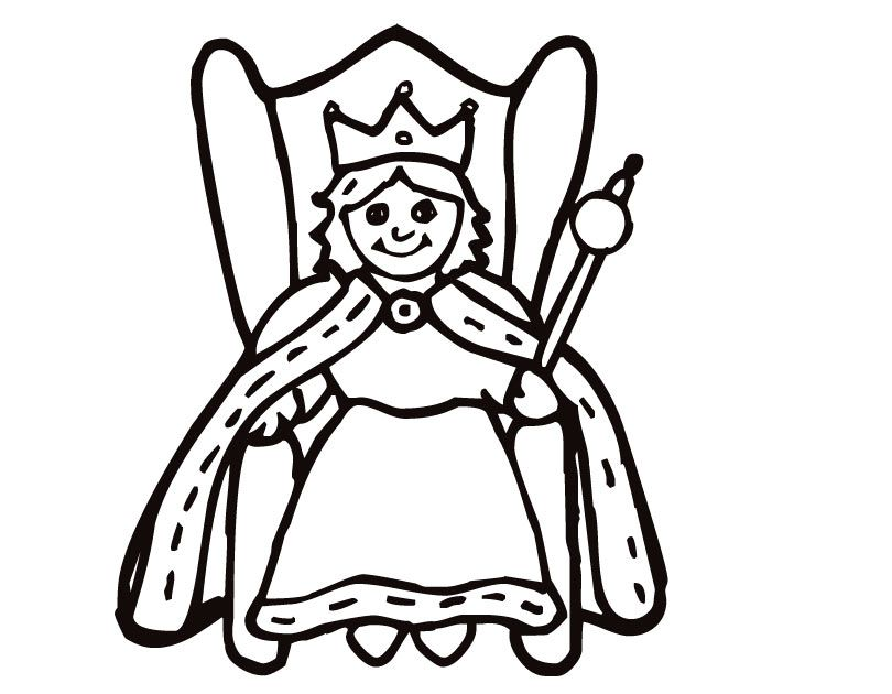 King And Queen Coloring Pages