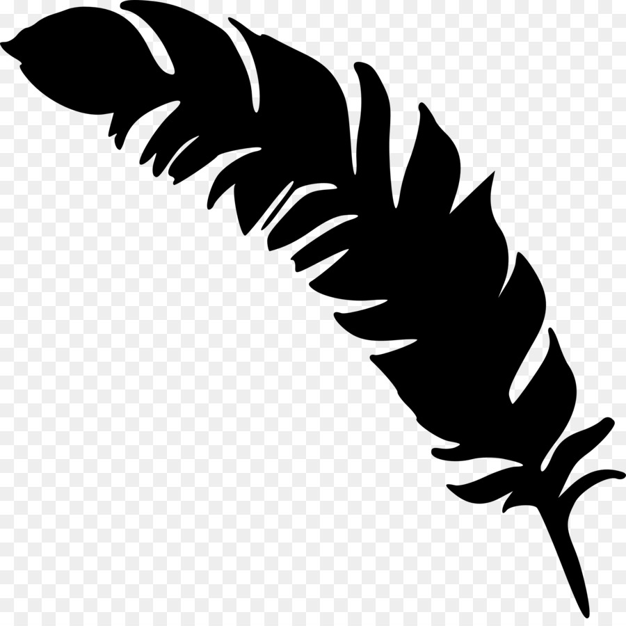 Leaf silhouette clipart.