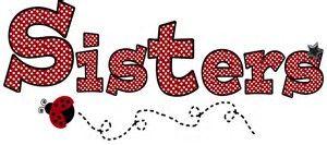 Image result for Word Sister Clip Art