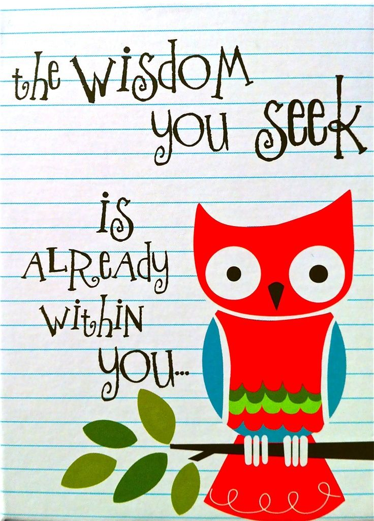 Wise owl quotes.