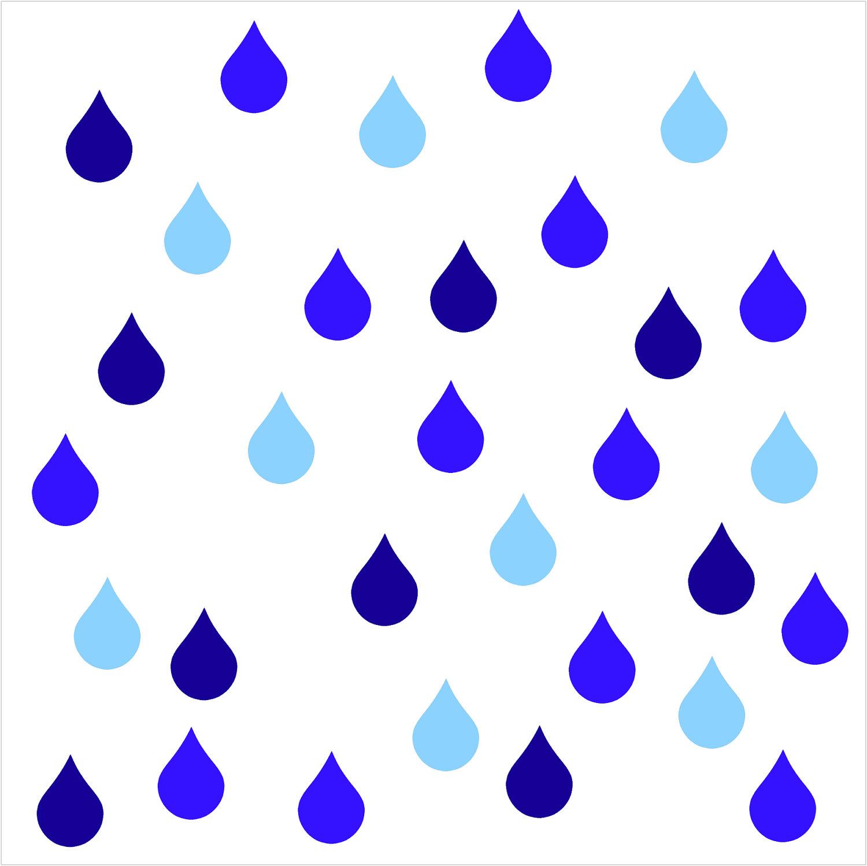 Rain drops clip.