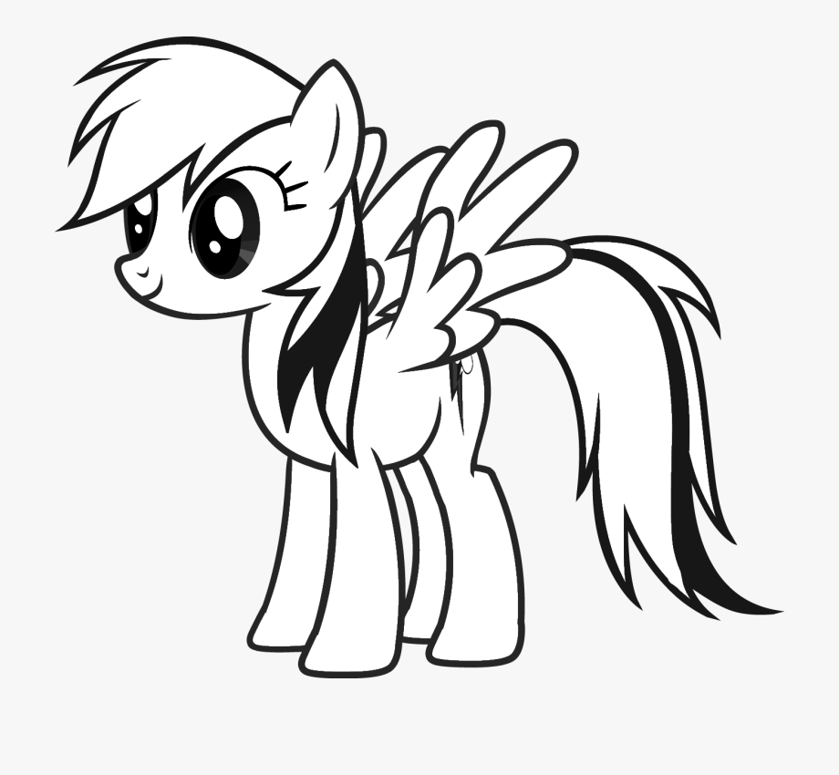 rainbow clipart black and white dash