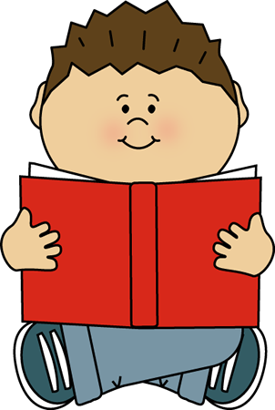 kids reading clipart center
