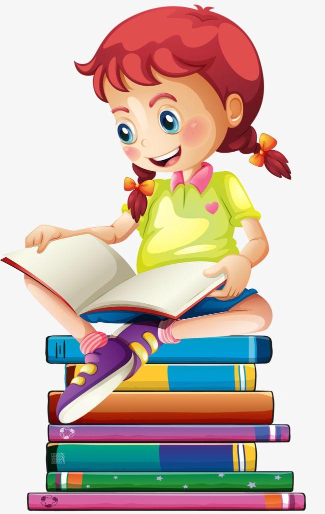 Girl reading reading.