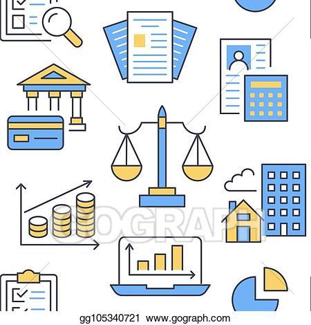 Vector illustration financial.