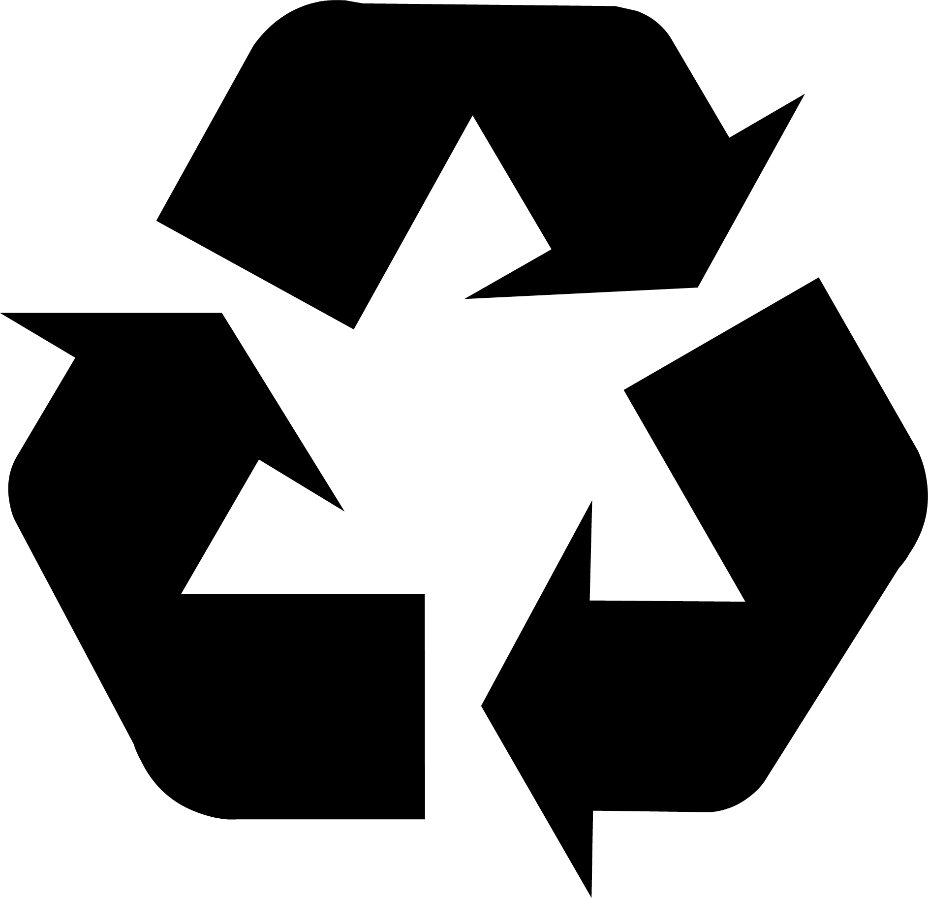 Recycling symbol download.