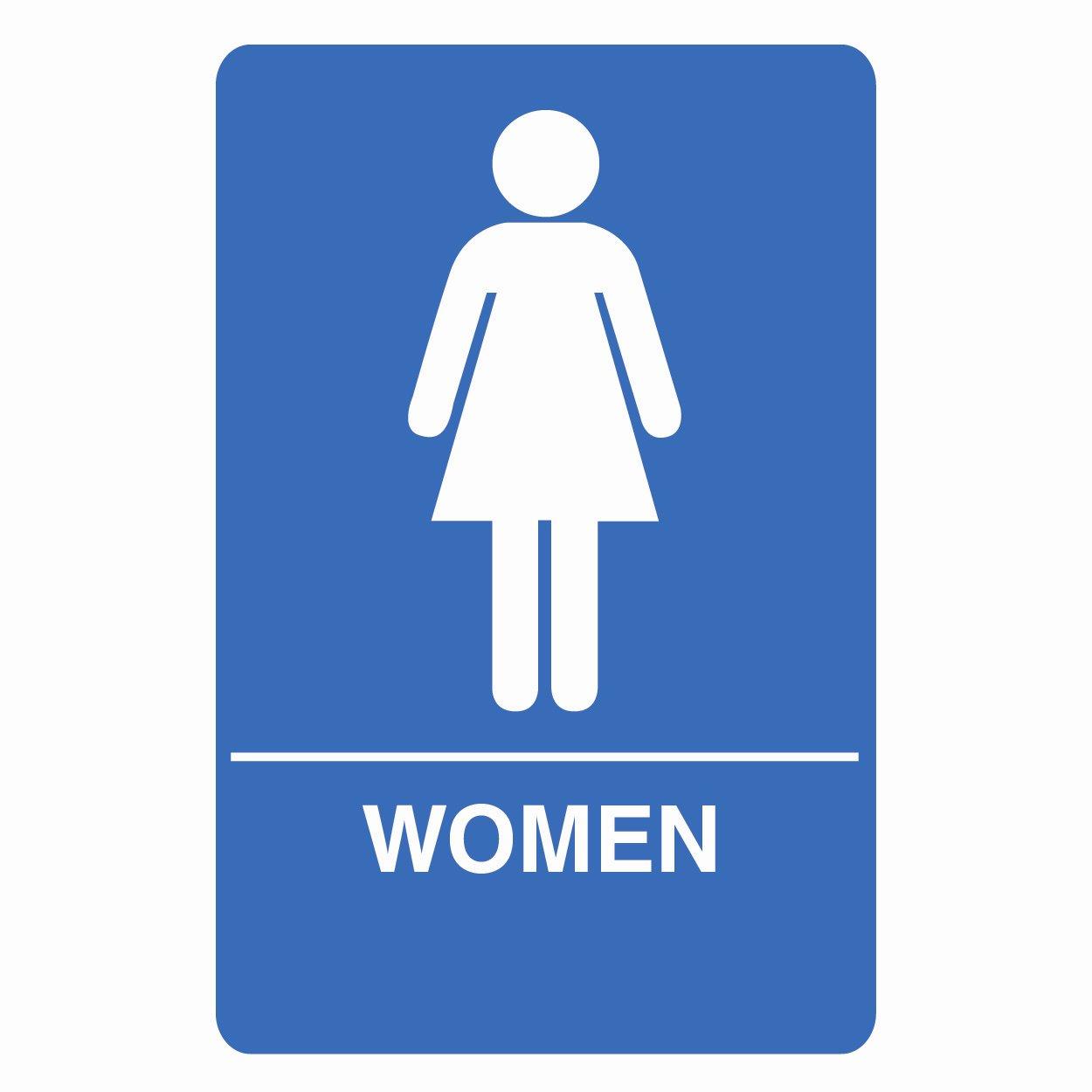 Free ladies restroom.