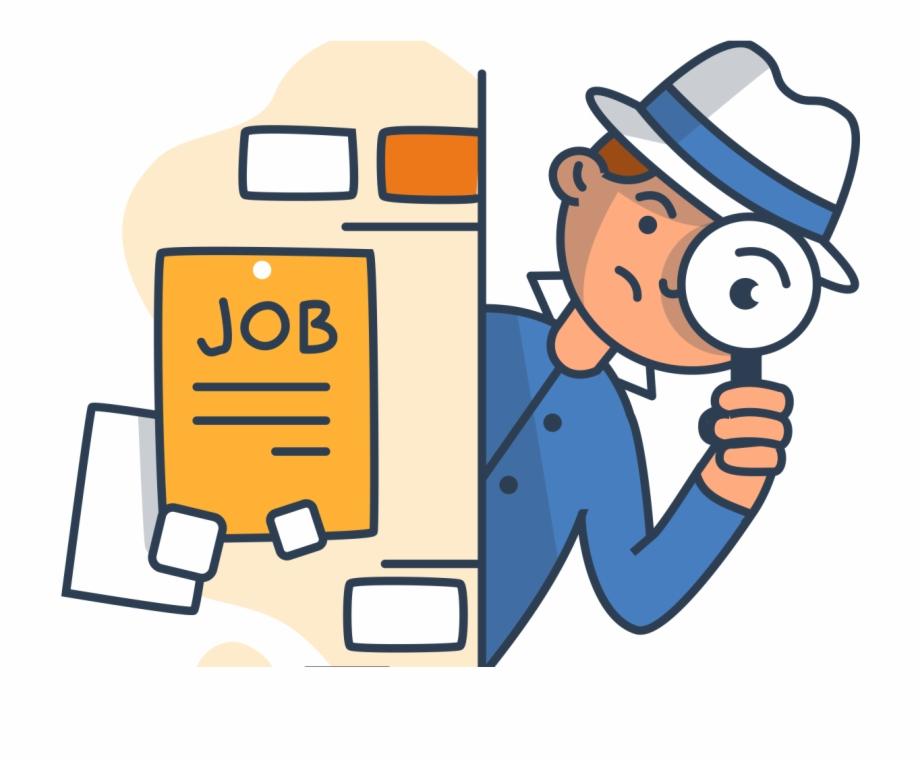 Resume clipart job.