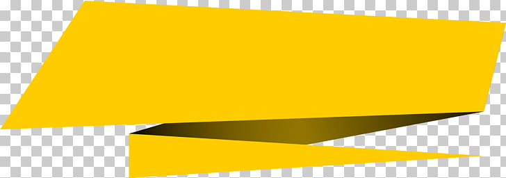 Encapsulated PostScript Banner, , yellow ribbon PNG clipart