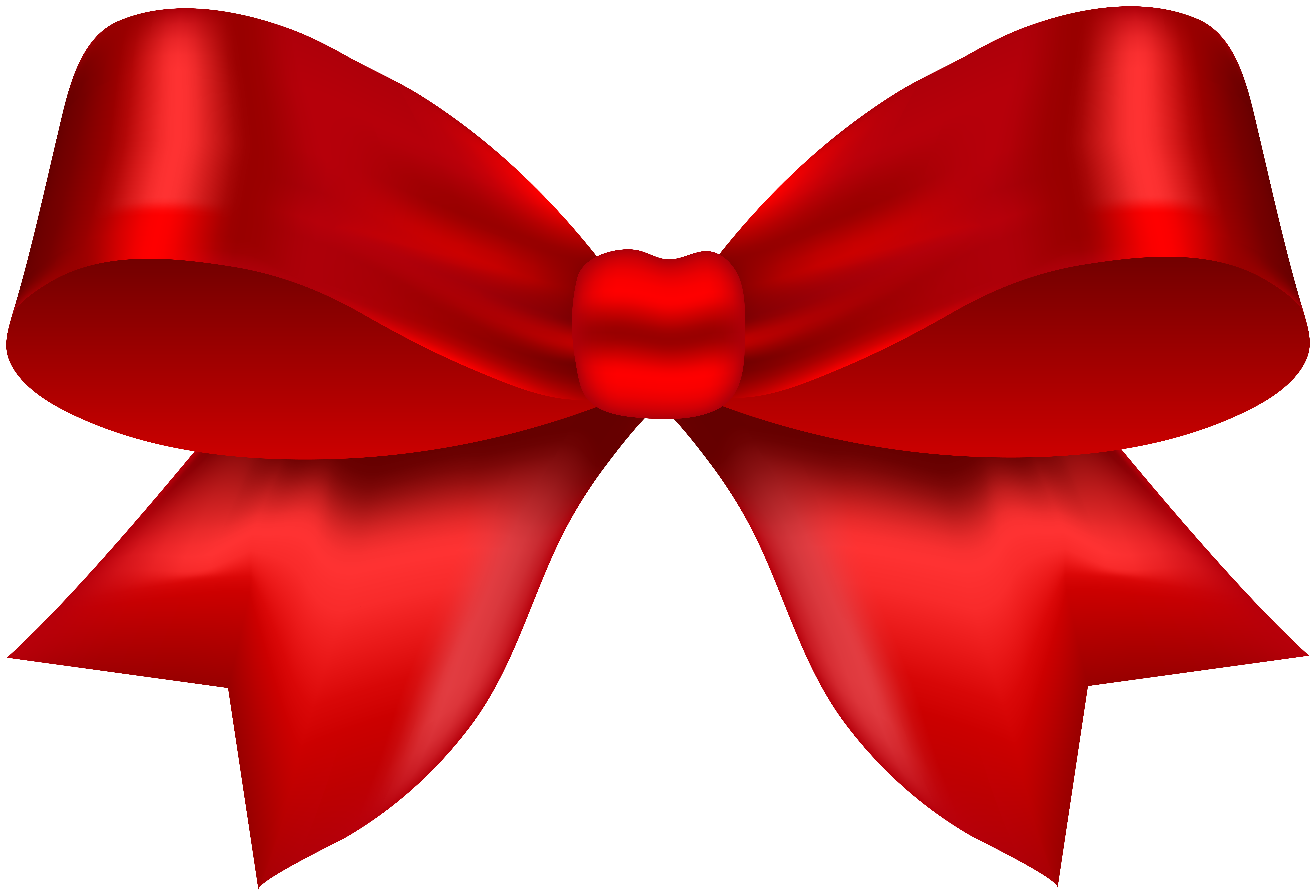 Classic bow red.