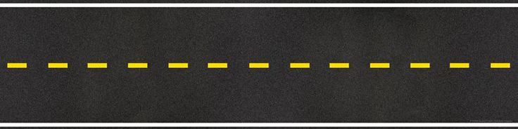 Horizontal road clipart.