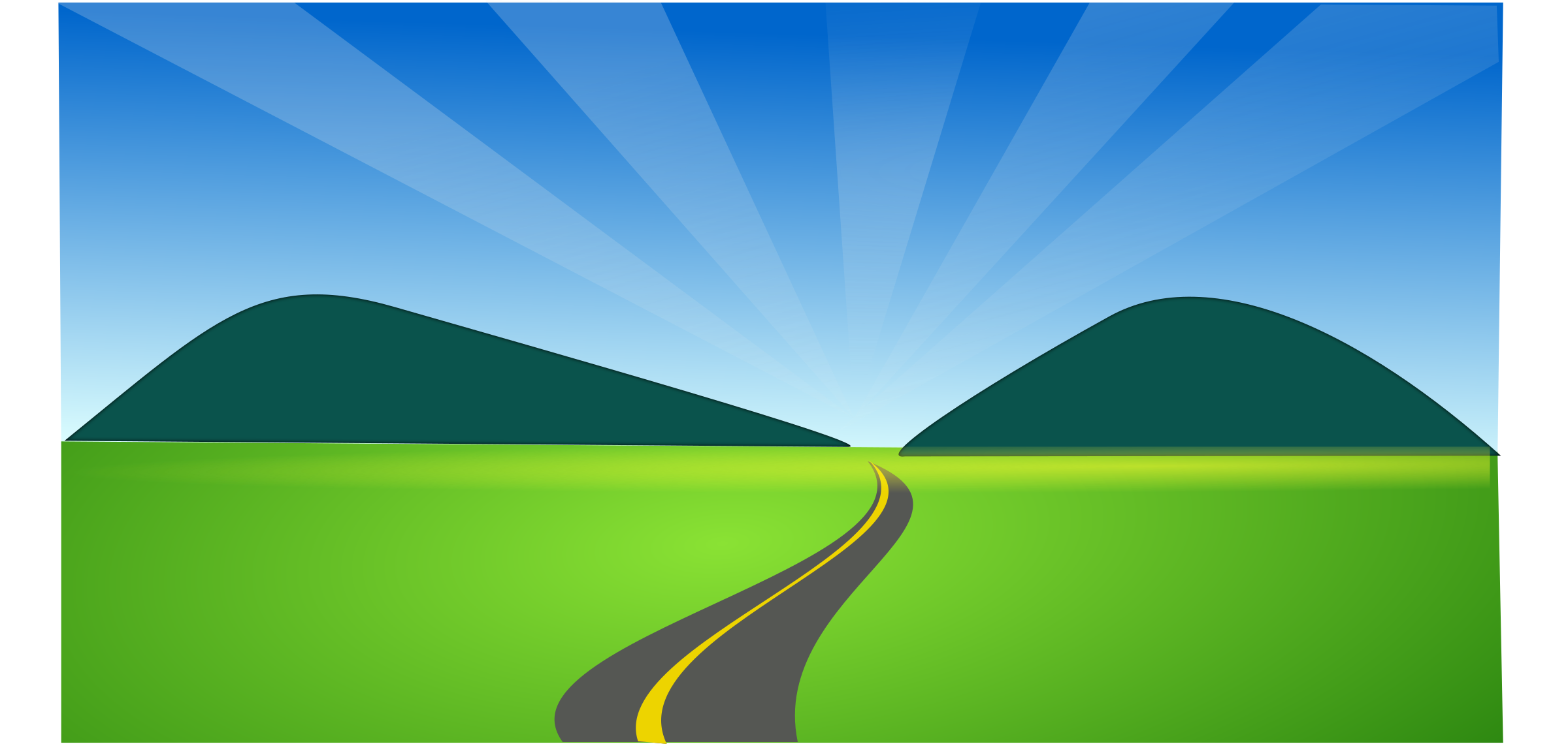Road Clipart side view