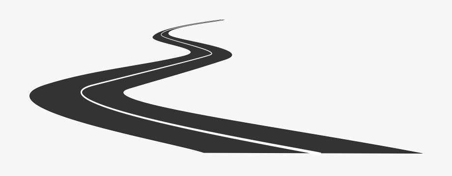 Clipart straight road.