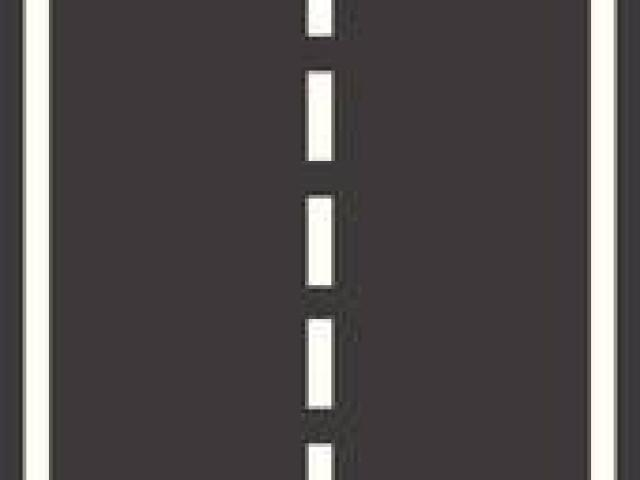 Roadway clipart straight.