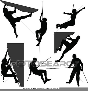 Free Rock Climber Clipart