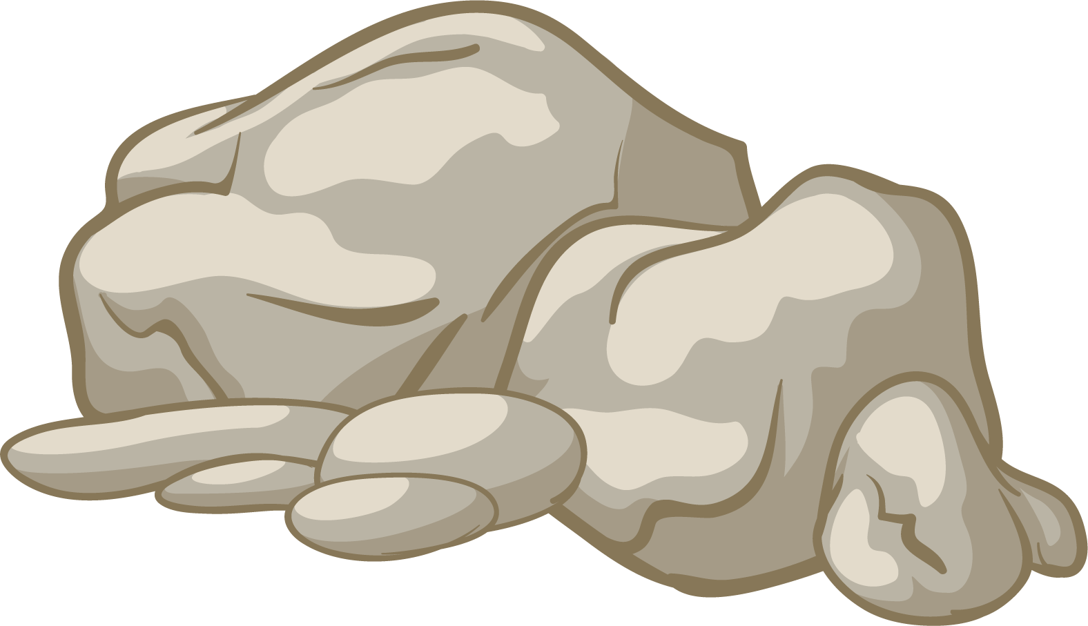 Rock clipart ground.