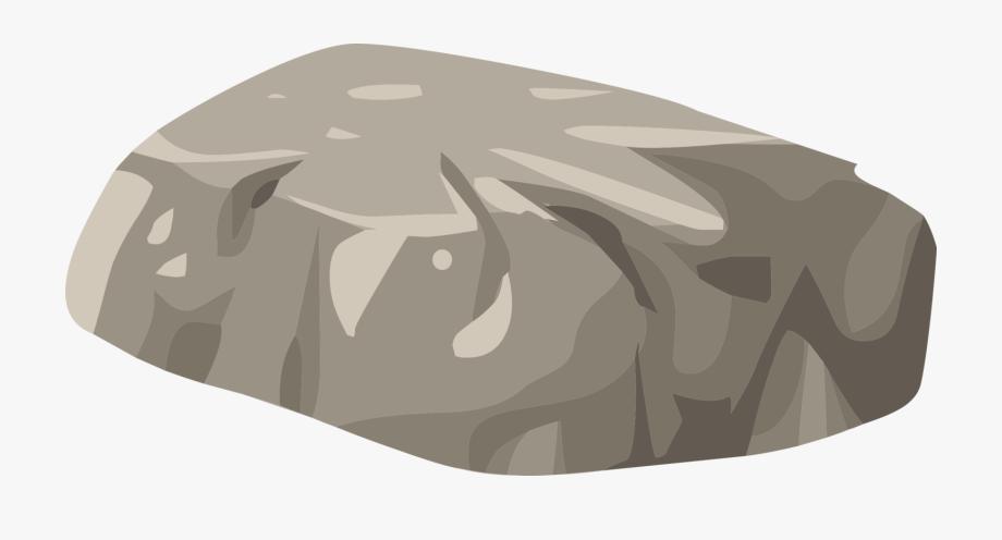 Boulder vector clipart.