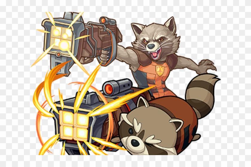 Rocket Raccoon Clipart Defender Galaxy