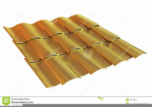 Metal Roof Clipart