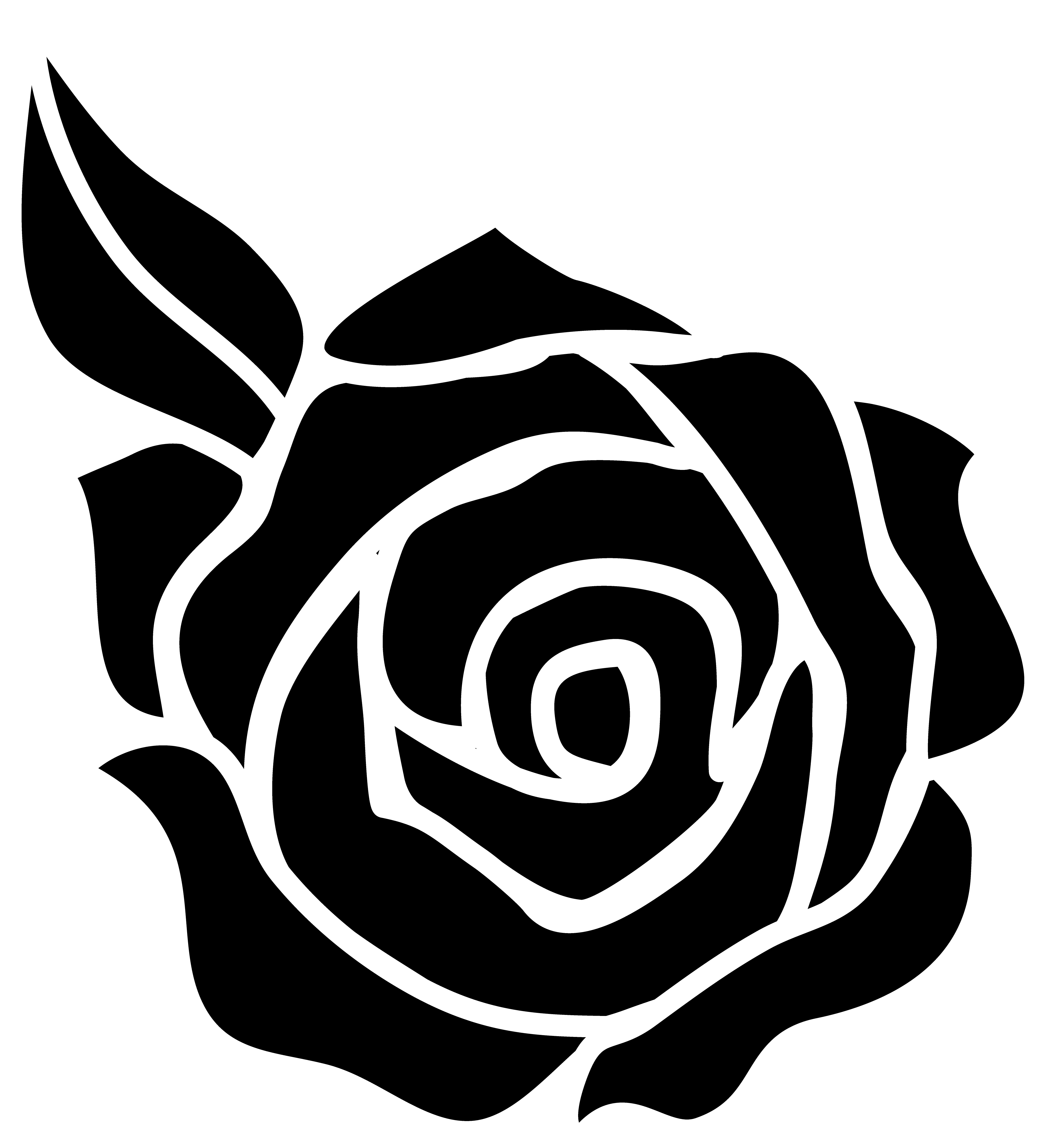 Rose black and.