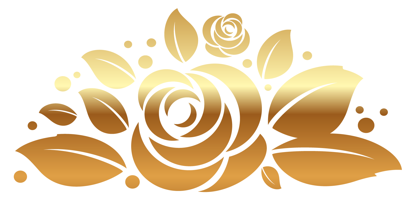 Free gold roses.