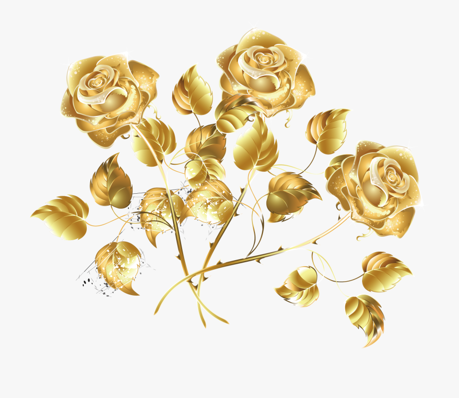 Golden creative sea.