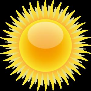 Sunshine sun clip.