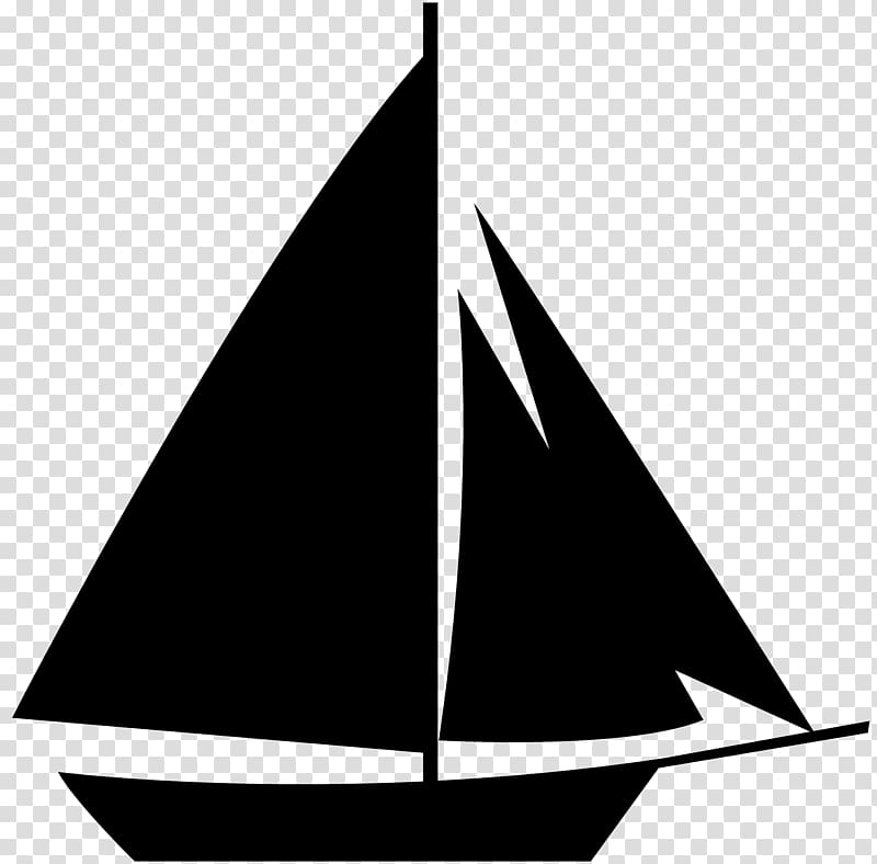 Sailboat silhouette sailboat.