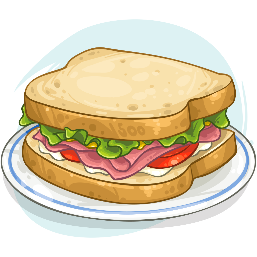 Sandwich Clipart ham sandwich