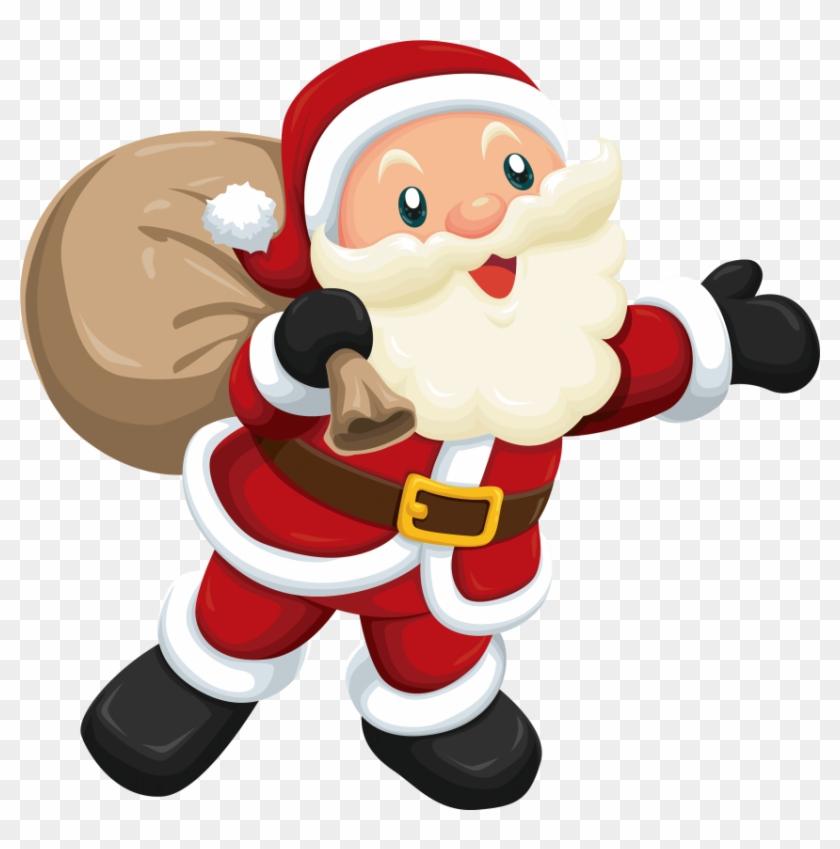 Download cute santa.