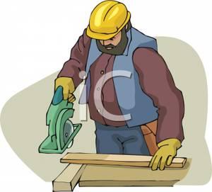 Carpenter cutting board.