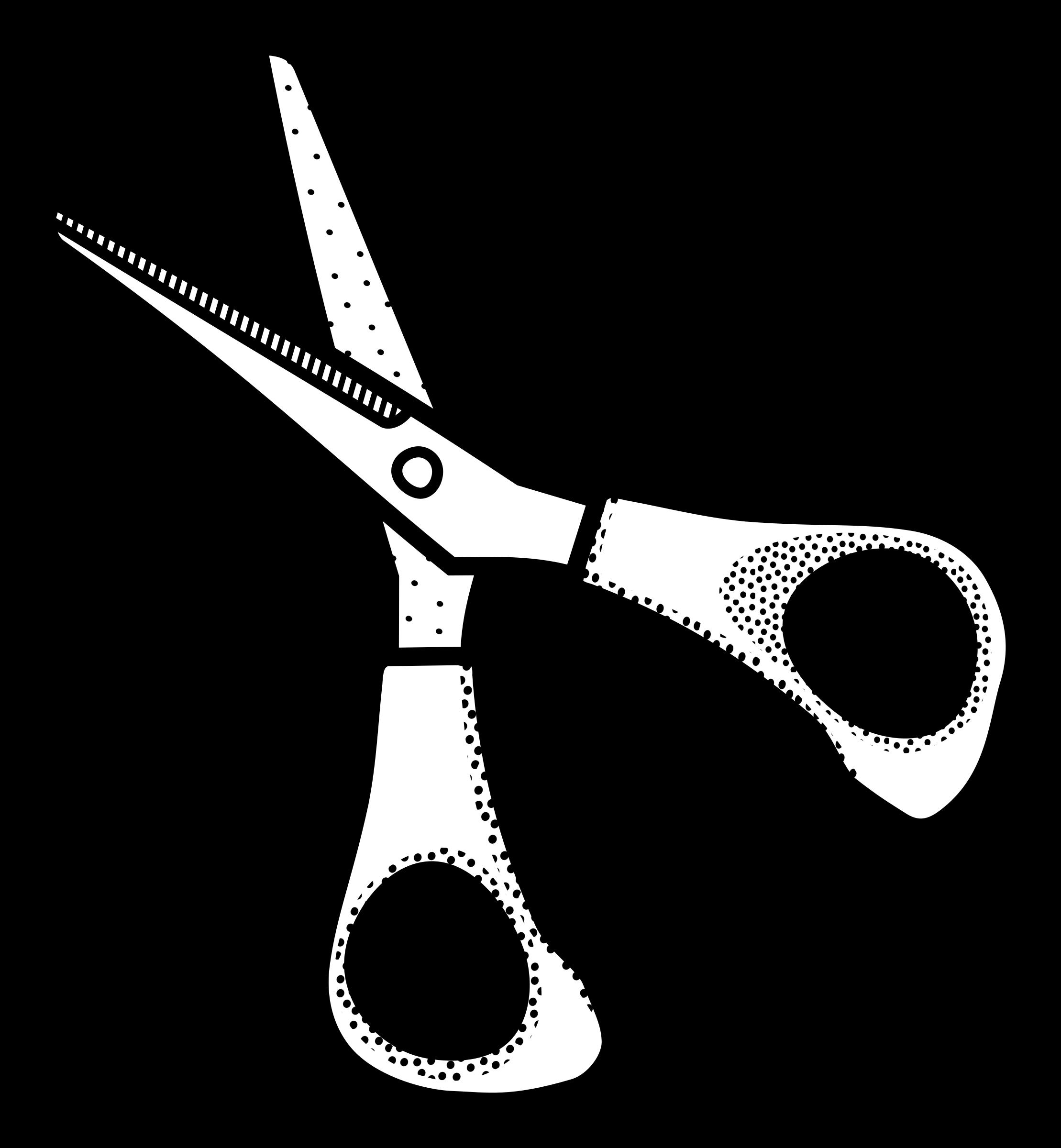Scissors clip art.