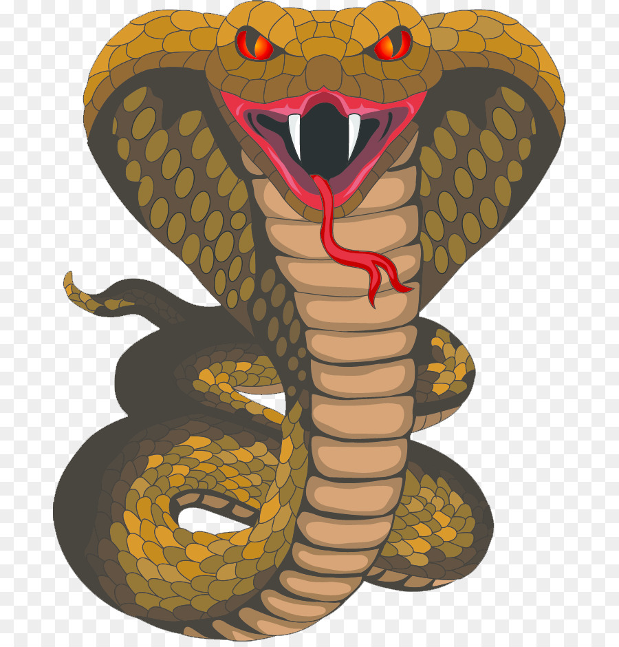 King cobra schlangeclipart.