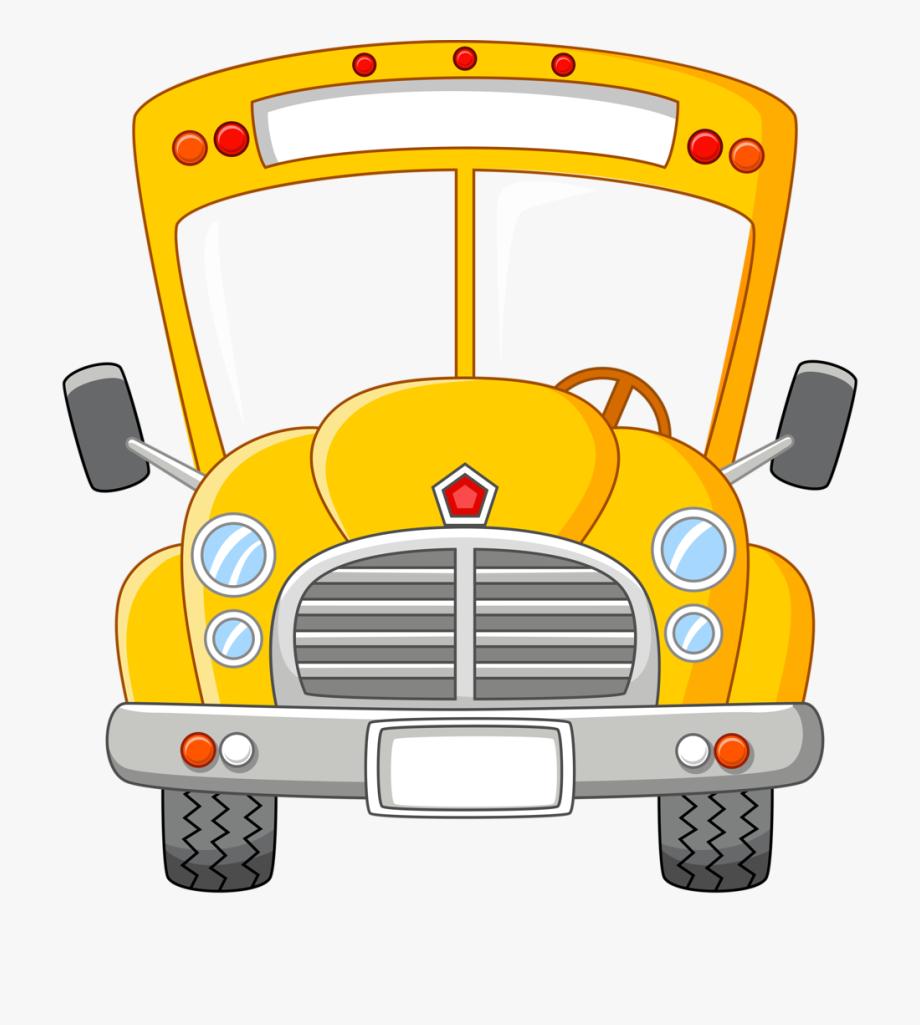 Bus clipart front.