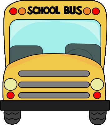 School bus front.