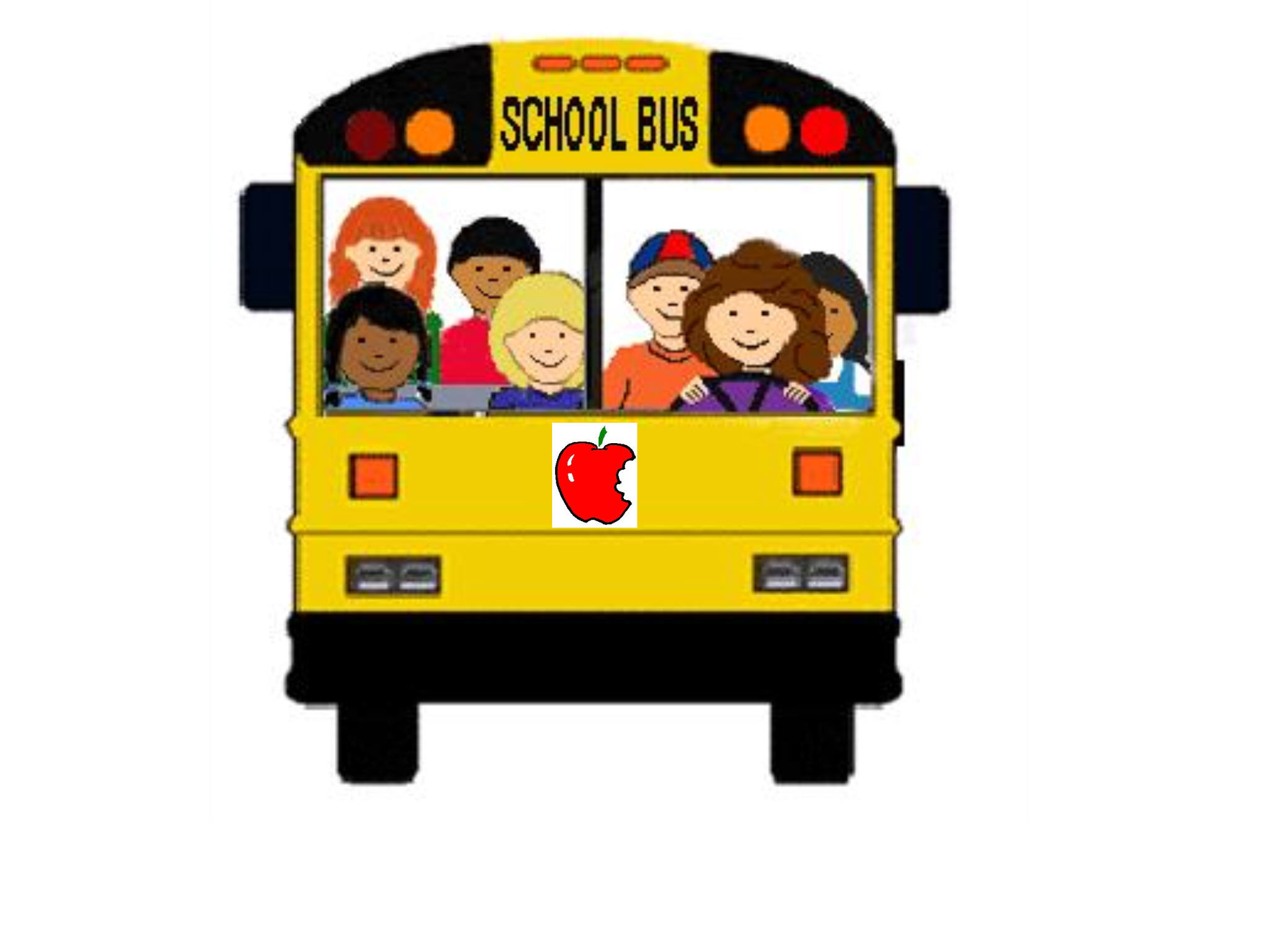 School bus cute.