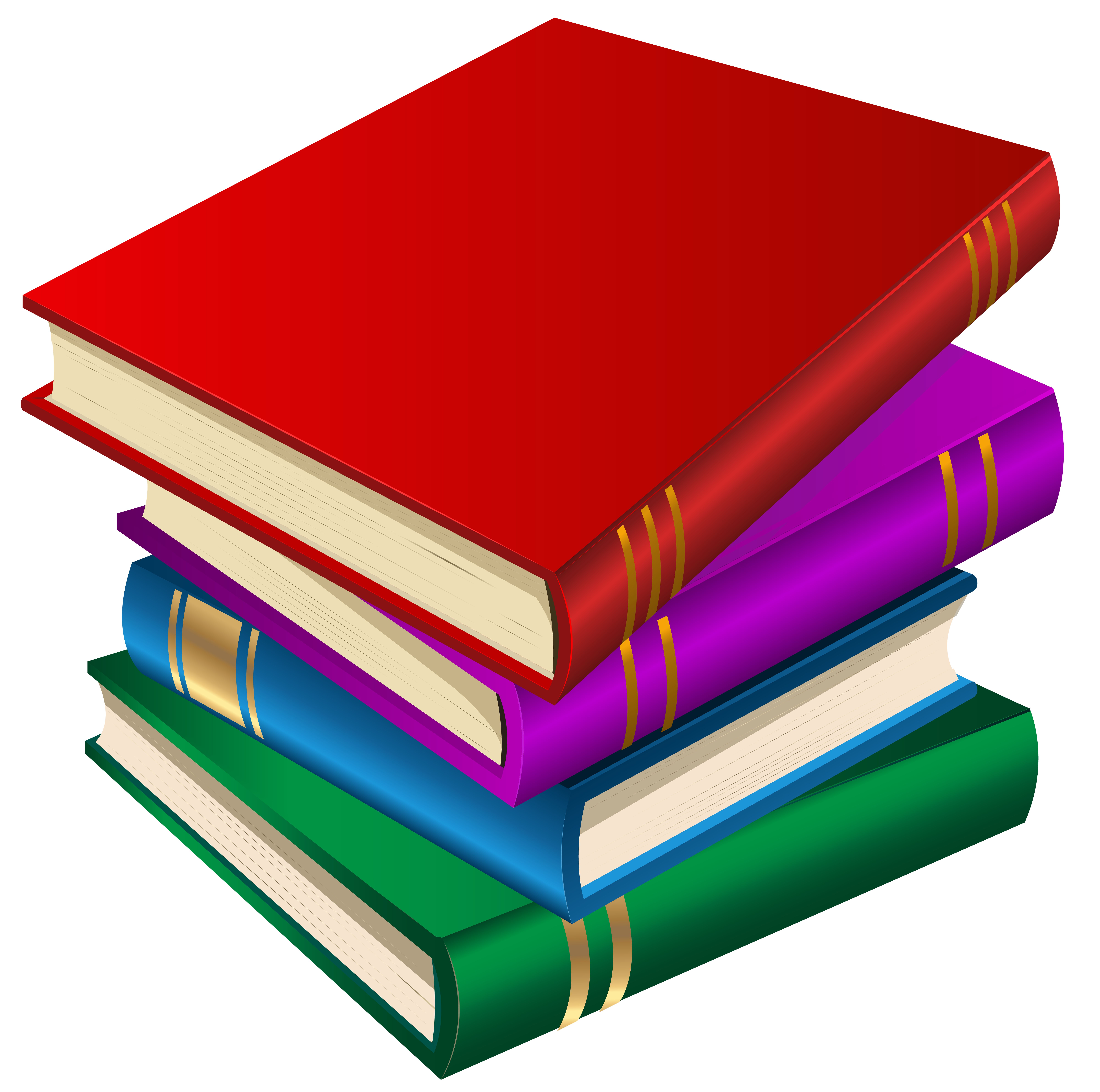 Books png clipart.