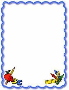 Kindergarten border clip.