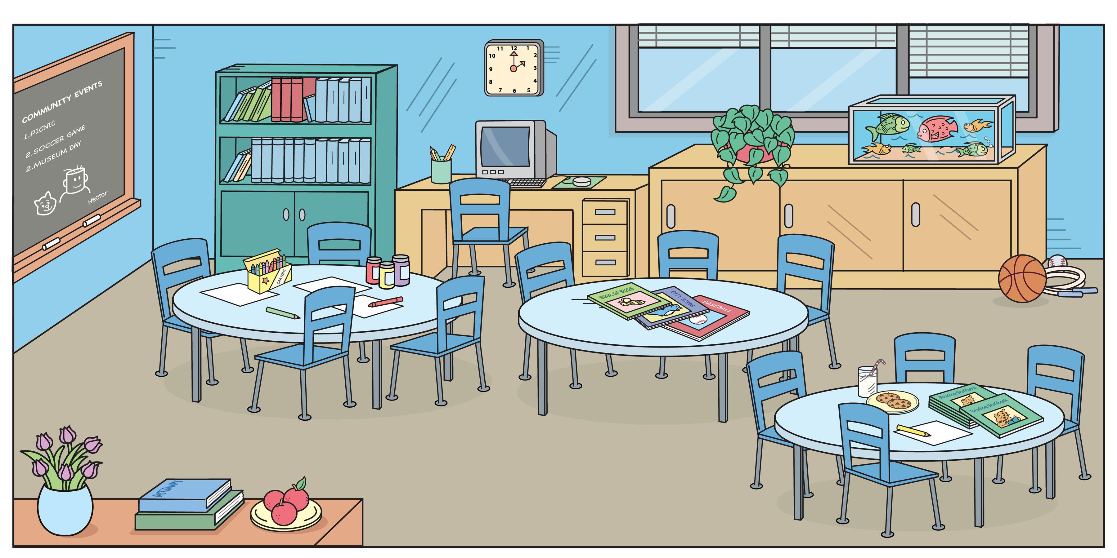 Free classroom cliparts.