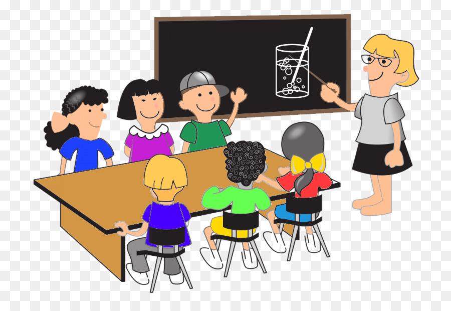 Blackboard Cartoon clipart