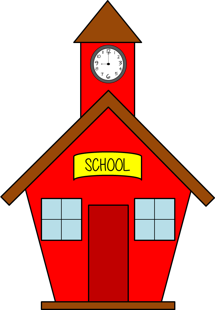 Free School Clipart Transparent Background, Download Free
