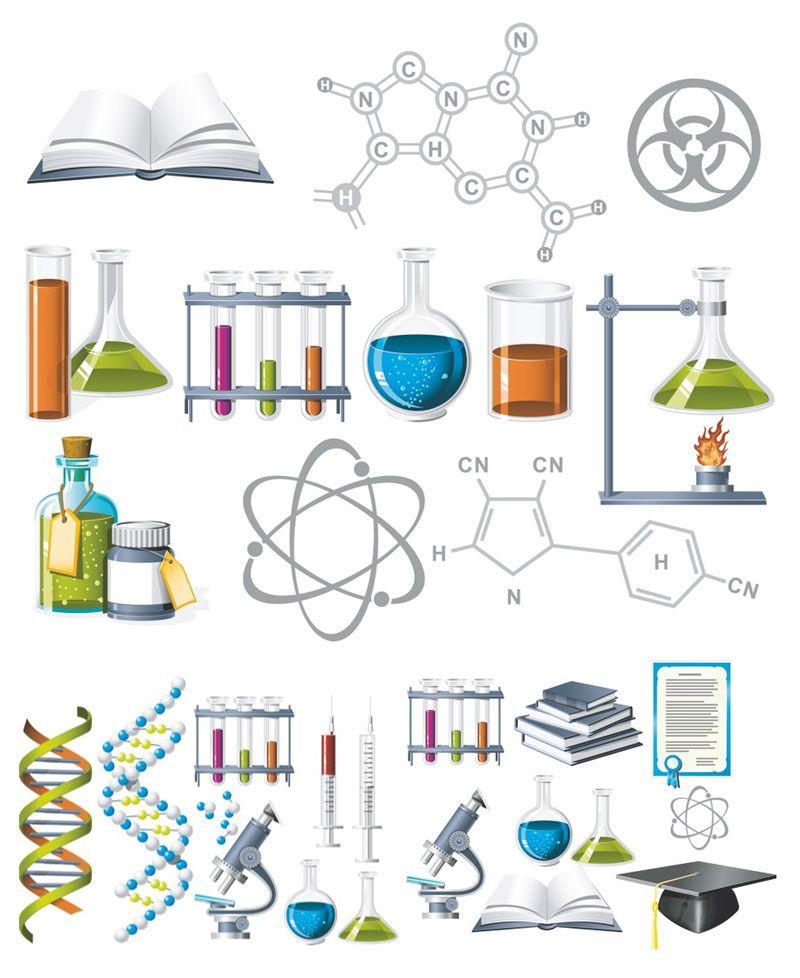 Chemistry clip art.