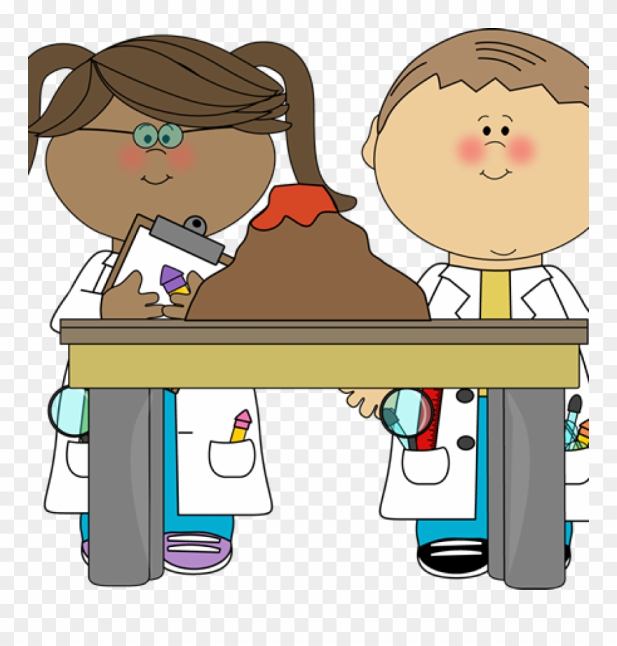 Kids science clipart.