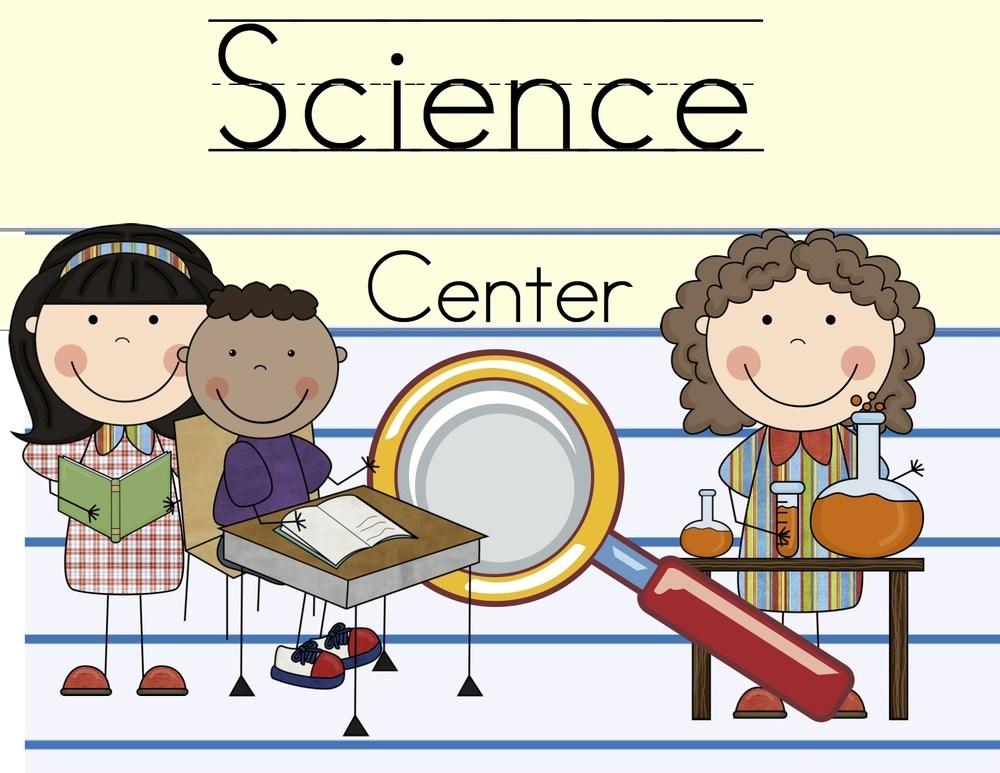Kindergarten science clipart.