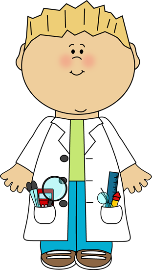 Boy scientist science.