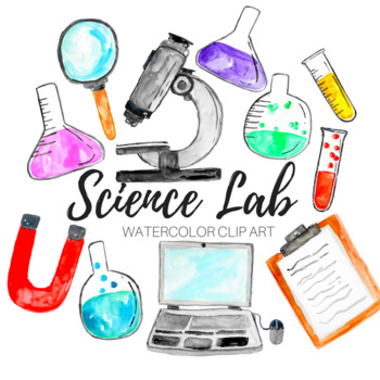 Watercolor science lab.
